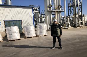 Feizhou Oil & Gas Molecular sieve desiccant approved by GRANDIA INDUSTRIAL.